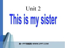 《This is my sister》PPT课件6