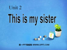 《This is my sister》PPT课件5