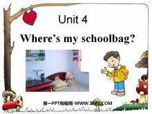 《Where's my schoolbag?》PPT课件7