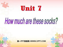 《How much are these socks?》PPT课件3