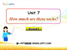 《How much are these socks?》PPT课件5