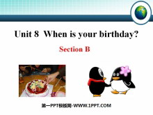《When is your birthday?》PPT�n件7
