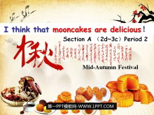《I think that mooncakes are delicious!》PPT课件8