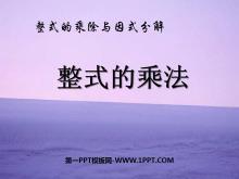 《整式的乘法》整式的乘除与因式分解PPT课件2