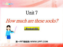 《How much are these socks?》PPT课件7