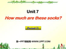 《How much are these socks?》PPT课件8