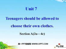 《Teenagers should be allowed to choose their own clothes》PPT�n件14