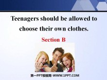 《Teenagers should be allowed to choose their own clothes》PPT课件19
