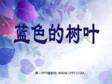 《蓝色的树叶》PPT课件2