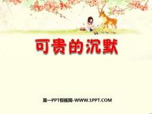 《可贵的沉默》PPT课件9