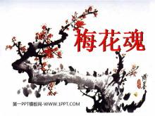 《梅花魂》PPT课件4