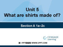 《What are the shirts made of?》PPT课件15