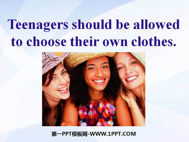 should teenagers be limited in their According to project teen canada, a decades-long study of 5,500 canadian teenagers, nine out of 10 teens describe their mothers as having a high level of influence in their lives, and eight in 10 say the same of their fathers.