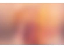 朦胧粉色PPT背景图片