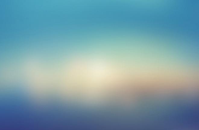 ppt背景 模糊背景图片 蓝色极光朦胧虚化模糊ppt背景图片  素材版本