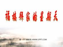 《福楼拜家的星期天》PPT课件7