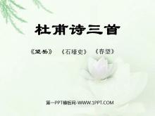 《杜甫诗三首》PPT课件