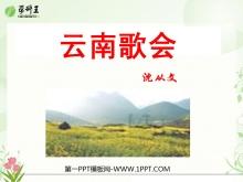 《云南的歌会》PPT课件7