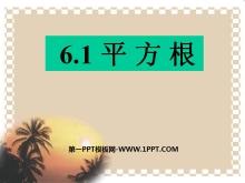 《平方根》实数PPT课件7