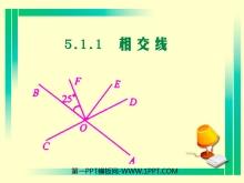 《相交线》相交线与平行线PPT课件3