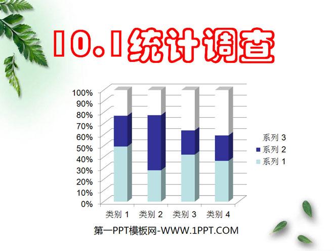 人教版七年级数学下册《统计调查》数据的收集、整理与描述PPT课件3