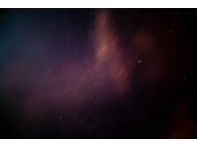 紫色星空简洁PPT背景图片