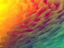 炫彩多边形PPT背景图片
