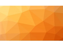 橘黄色多边形PPT背景图片