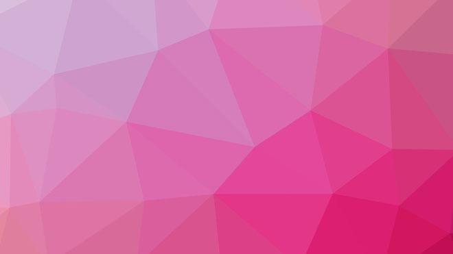 柔和粉色多边形ppt背景图片