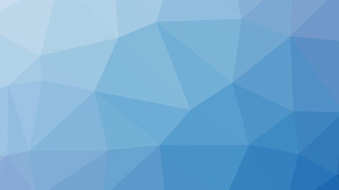 海蓝色多边形ppt背景图片