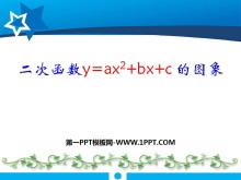 《二次函数y=ax2+bx+c的图象》二次函数PPT课件3