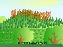 《邓小平爷爷植树》PPT课件7