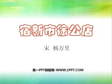《宿新市徐公店》PPT课件4