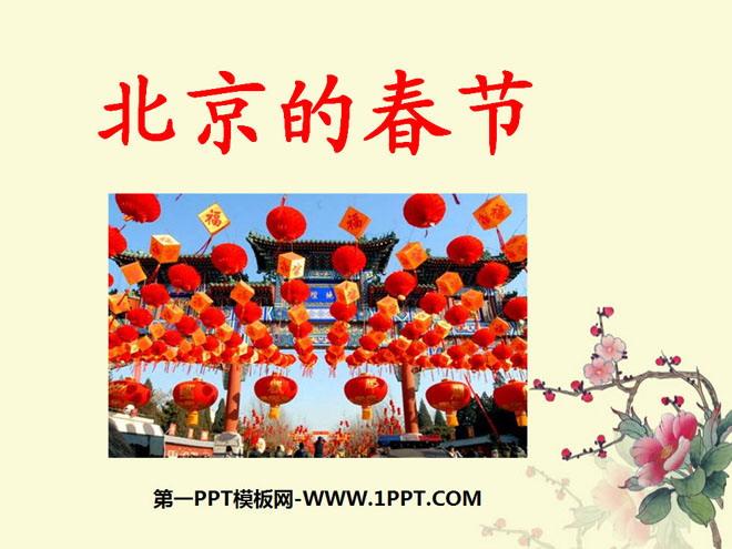 《北京的春节》ppt课件8