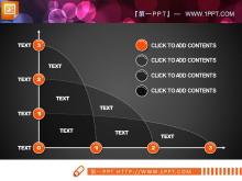 多曲线PPT图表tt娱乐官网平台