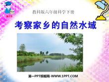 《考察家乡的自然水域》环境和我们PPT课件