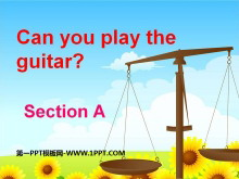 《Can you play the guitar?》PPT课件2