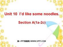 《I'd like some noodles》PPT�n件