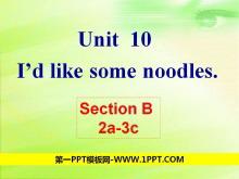 《I'd like some noodles》PPT�n件5