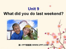 《What did you do last weekend?》PPT�n件5