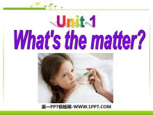 《What's the matter?》PPT课件2