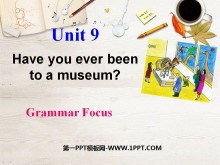 《Have you ever been to a museum?》PPT�n件3