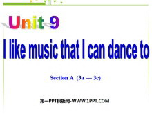 《I like music that I can dance to》PPT课件2