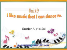 《I like music that I can dance to》PPT课件6