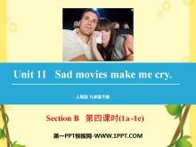 《Sad movies make me cry》PPT课件