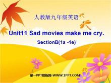 《Sad movies make me cry》PPT课件2