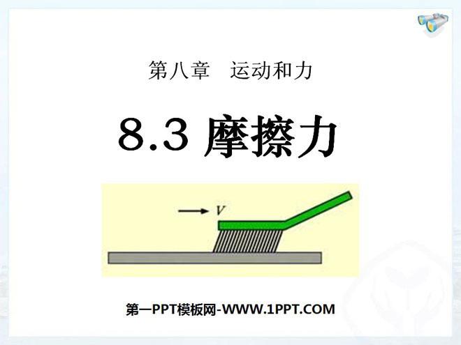 摩擦力 运动和力PPT课件3