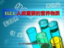 《人类重要的营养物质》化学与生活PPT课件3