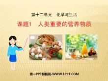 《人类重要的营养物质》化学与生活PPT课件4