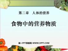 《食物中的营养物质》人体的营养PPT课件5